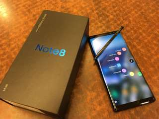 For Swap Only: Samsung Galaxy Note 8 64gb Gold