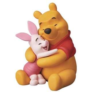 🚚 (預購)Medicom UDF 迪士尼系列7小熊 維尼 & 小豬