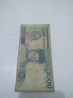 uang kuno sisinamangaraja 1987