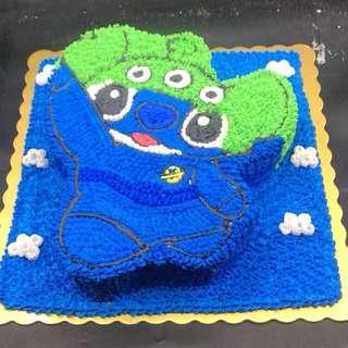史迪仔 三眼仔 stitch alien 蛋糕 2磅