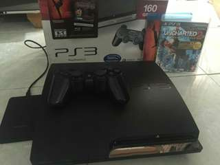 PS3 SUPER SLIM HITAM 500GB