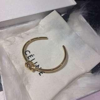 Celine 金色手鐲 bracelet