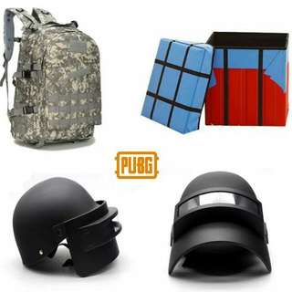 PUBG Bag Helmet Air Drop Box