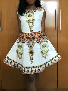 Dress elegan lucu cantik