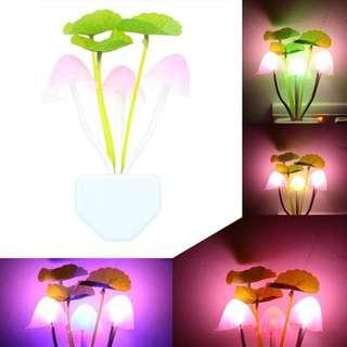 Lampu tidur jamur & Lampu emergency usb