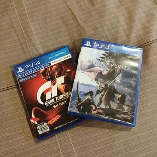 Gran Turismo and Monster Hunter pack