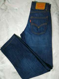 Levi's 513 denim slim straight
