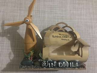 Ilocos Norte Windmill Souvenir/Cellphone Holder (Collectibles)