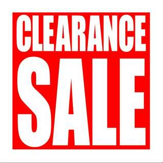 CLEARANCE SALE! Bags and Shoes