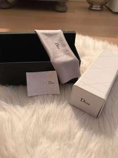 Dior sunglass box