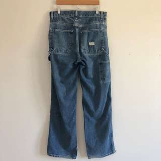 Gap High-Rise Mid Wash Carpenter Jeans