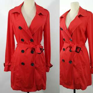Red Trench Coat Trenchcoat
