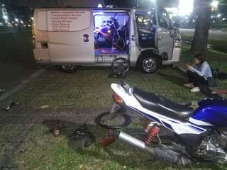 Onsite Bike Repair / Yamaha Rxz / Onsite Tube Rescue / Mobile Mechanic