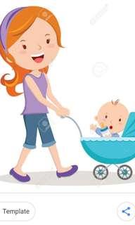 Providing Babysitting services on weekdays