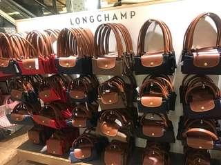 (6月21-26 倫敦代購) Longchamp Nylon Neo 長柄 短柄 有大細 女裝 袋 「6月26晚上11:59pm截單」