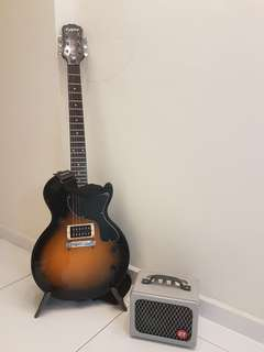 Epiphone Les Paul Electric Guitar with Amp