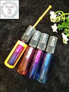 🚚 10ML Rainbow Spray Glass Bottle