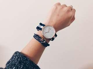 IWEARTUL Minimalist Watch & bracelet Bundle