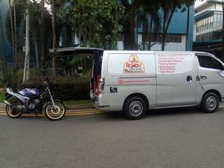 Towing / Onsite Bike Repair / Mobile Mechanic / Yamaha Rxz /