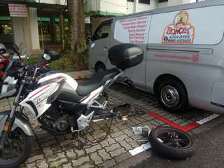 Onsite Bike Repair / cb190x chain rescue / mobile mechanic /