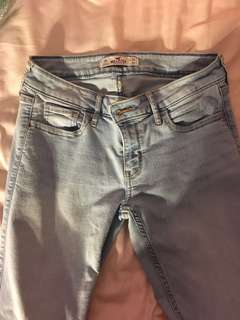 Hollister light jeans