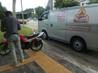 Yamaha Rxz clutch cable rescue / onsite bike repair / Mobile Mechanic