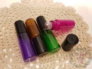 5ml Glass Roller Bottles