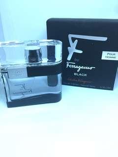 F Ferragamo Black By Salvatore Ferragamo For Men Eau De Toilette Spray, 1.7-Ounce/50 Ml