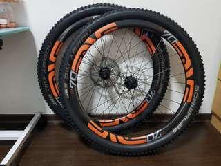 Enve M70 wheelset 27.5