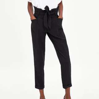 Zara Paper Bag Trousers