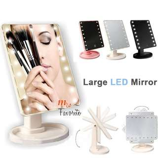 Touch Screen LED Makeup Mirror (16 LED) READY STOCK!!