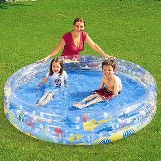 Bestway 51004 3 Rings Deep Dive Pool 152cm X 30cm