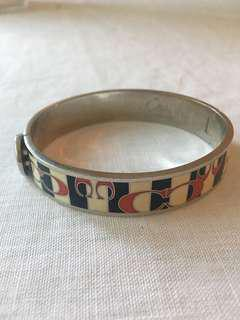 Coach nautical theme cuff bracelet