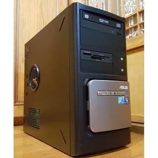 Asus大品牌桌上型電腦主機Intel E7500頂級雙核心掛網機 文書機 (硬碟只使用23天)