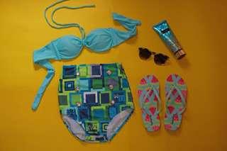 High-waisted Swimsuit