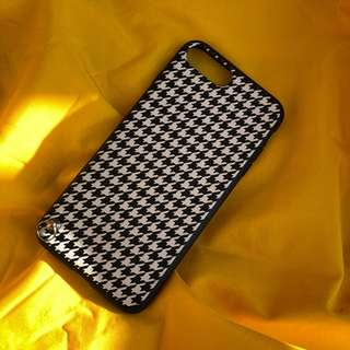 Houndstooth case for iphone 7+ 8+