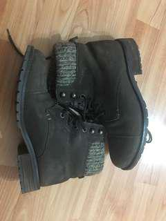 Steve Madden combat shoes 38