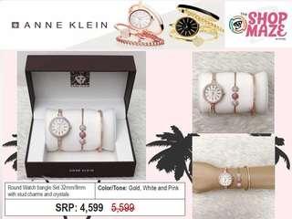 Anne Klein Gold, White & Pink