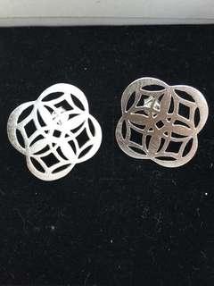 純銀泰國製民俗風耳環