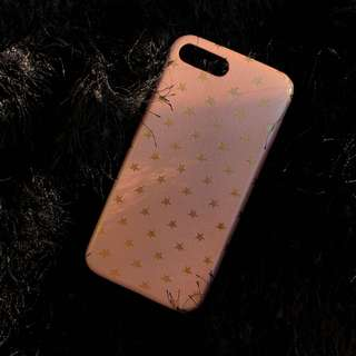 Pink star case for iphone
