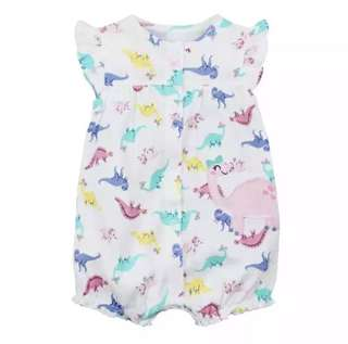 Baby Girls Rompers Summer Fashion Short Sleeve Baby Clothing Toddler Roupas Clothes Newborn Baby Clothes Infant Jumpsuit Animal cutee!