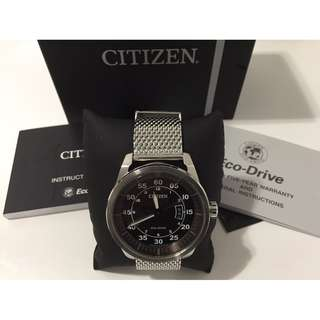 Citizen Eco Drive AW1360-55F Stainless Steel Watch $150 (New)