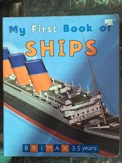 Big board board book Ships