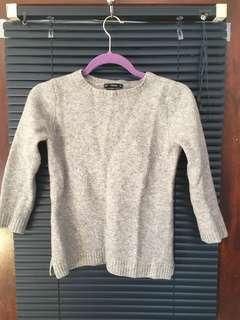 Zara 100% wool sweater xs-s