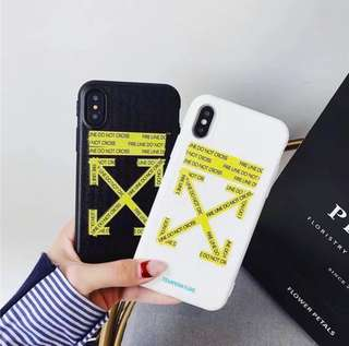 Off White iPhone Case (PRE-ORDER)