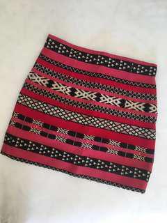 Printed Zara skirt (s size)