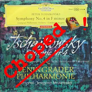 tchaikovsky Vinyl LP used, 12-inch, may or may not have fine scratches, but playable. NO REFUND. Collect Bedok or The ADELPHI.