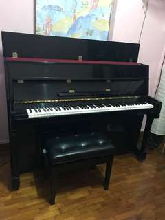 Yamaha Upright Piano (negotiable for fast deal)