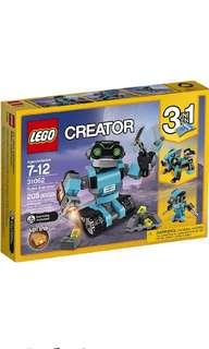 Lego Creator 3-in-1 31062 Robo Explorer