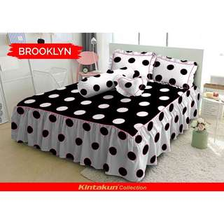 Sprei kintakun dluxe brooklyn uk king
